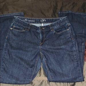 Ann Taylor Loft Jeans Size 8 Petite